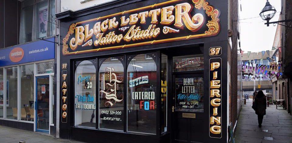 Black Letter Tattoo